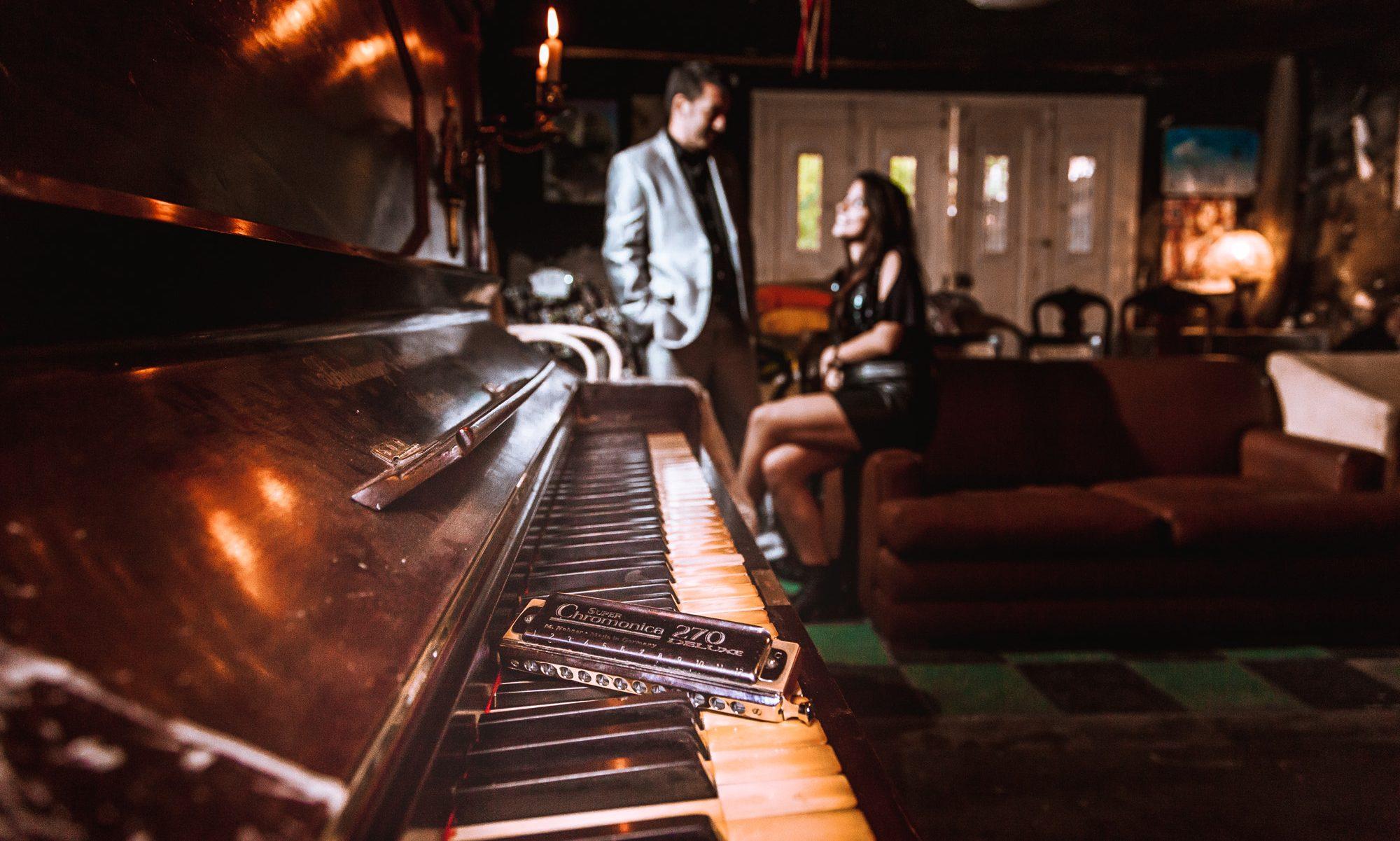 Mari Kerber & Ale Ravanello - Piano & Harmonica Duet